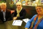 Yves Le Floch, Marc Espa et Anne-Marie Redou, Comité de réflexion de la Presqu'ile.jpg